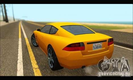 Ocelot  F620 (GTA V) для GTA San Andreas вид сзади слева