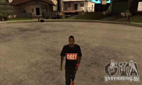 Obey Nigga для GTA San Andreas