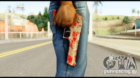 Desert Eagle with Blood для GTA San Andreas третий скриншот