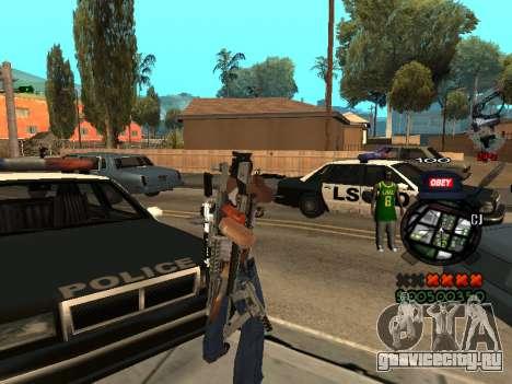 C-HUD Sweet для GTA San Andreas второй скриншот
