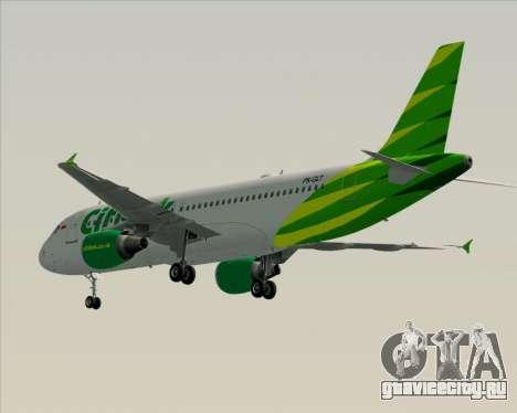 Airbus A320-200 Citilink для GTA San Andreas вид справа