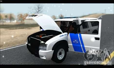 Chevrolet S-10 P.N.A для GTA San Andreas вид сзади