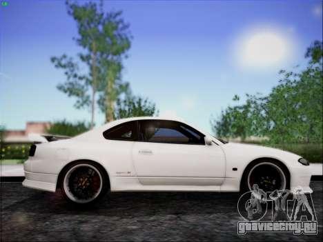 Nissan Silvia S15 Roux для GTA San Andreas вид сзади слева
