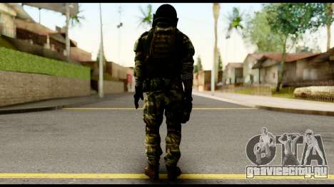 Support Troop from Battlefield 4 v2 для GTA San Andreas второй скриншот