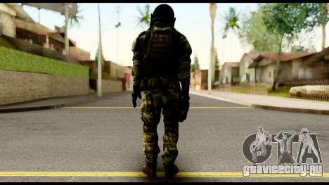 Support Troop from Battlefield 4 v2 для GTA San Andreas второй скриншот
