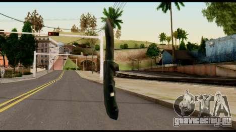Solidsnake CQC Knife from Metal Gear Solid для GTA San Andreas второй скриншот