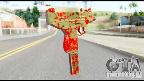 Micro SMG with Blood для GTA San Andreas второй скриншот