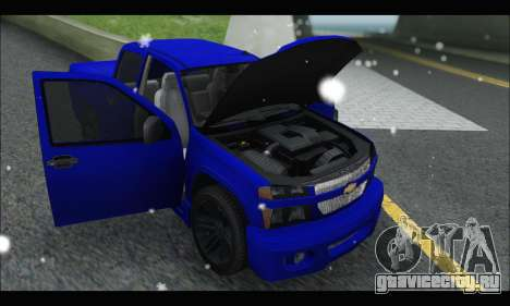 Chevrolet Colorado Codered 2004 для GTA San Andreas вид справа