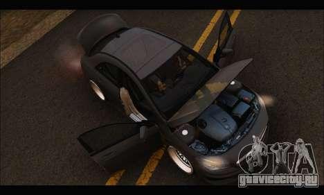 Mercedes Benz CLA 250 2014 для GTA San Andreas вид сбоку