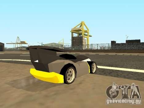 RC Bandit (Automotive) для GTA San Andreas вид слева