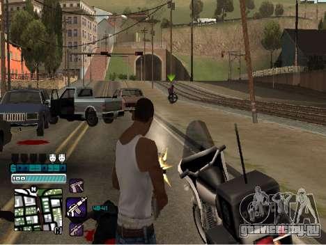 Beautiful C-HUD для GTA San Andreas третий скриншот
