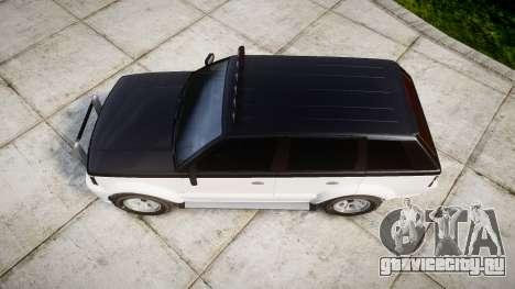 Vapid Huntley Sport 4x4 off-road для GTA 4 вид справа