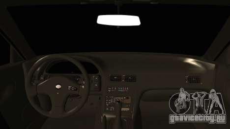 Nissan Silvia S13 Sileighty Drift Moster для GTA San Andreas вид сзади слева