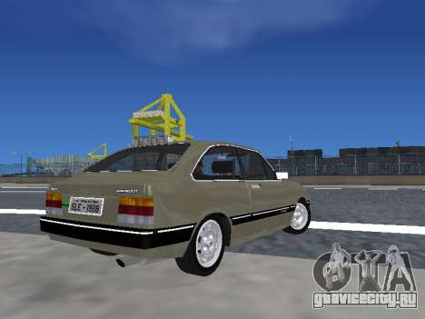 Chevrolet Chevette Hatch для GTA San Andreas вид слева