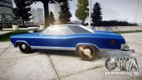 GTA V Albany Buccaneer Little Wheel для GTA 4 вид слева