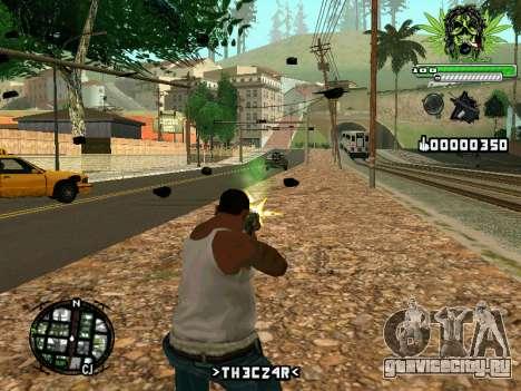 C-HUD Marihaus для GTA San Andreas второй скриншот