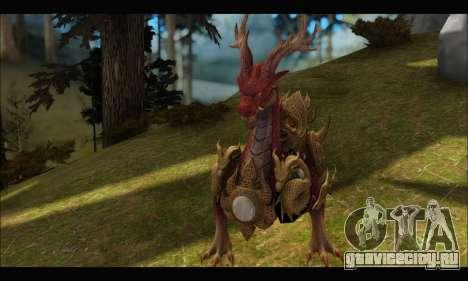 Kirin Dragon (TERA Online) для GTA San Andreas третий скриншот