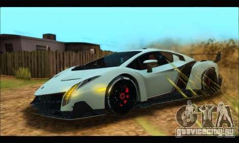 Lamborghini Veneno 2013 HQ для GTA San Andreas