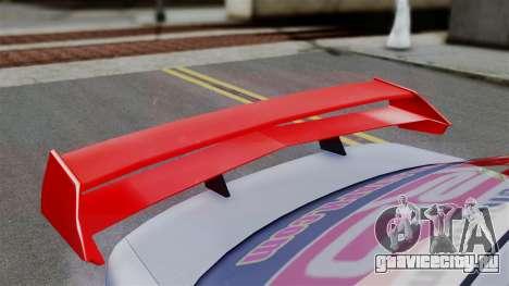 Toyota Vios TRD Racing v2 для GTA San Andreas вид сзади слева