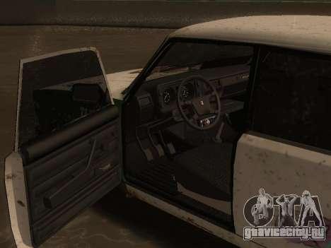 ВАЗ 2105 Ржавое корыто для GTA San Andreas вид справа