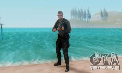 Sam Fisher - Paladin Outfit (Splinter Cell Black для GTA San Andreas пятый скриншот