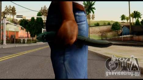 Solidsnake CQC Knife from Metal Gear Solid для GTA San Andreas третий скриншот