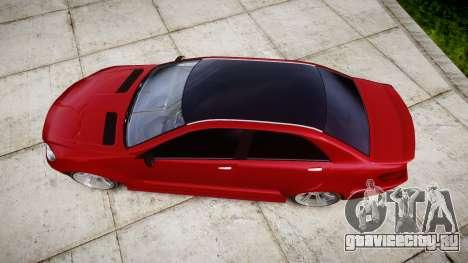 GTA V Benefactor Schafter body wide rims для GTA 4 вид справа