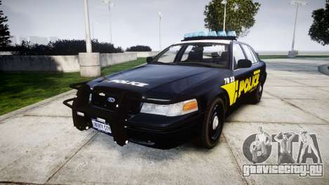 Ford Crown Victoria 2008 LCPD [ELS] для GTA 4