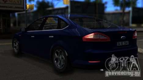 Ford Mondeo 2007 для GTA San Andreas вид слева