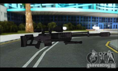 Raab KM50 Sniper Rifle From F.E.A.R. 2 для GTA San Andreas шестой скриншот