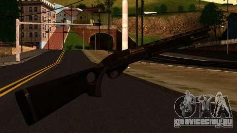 Shotgun from GTA 4 для GTA San Andreas второй скриншот