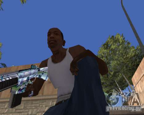 Graffity weapons для GTA San Andreas второй скриншот