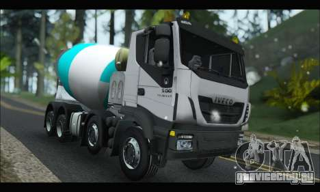 Iveco Trakker 2014 Concrete Snow для GTA San Andreas
