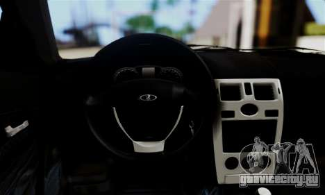 Lada Priora Sport для GTA San Andreas вид сзади
