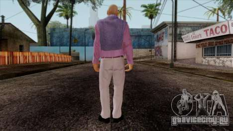 GTA 4 Skin 48 для GTA San Andreas второй скриншот