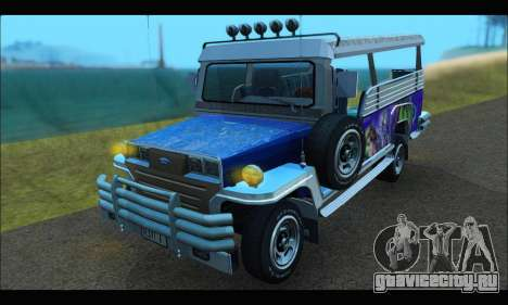 Jeepney from Binan для GTA San Andreas
