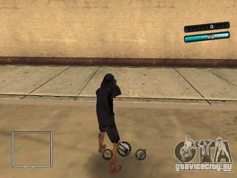 C-HUD Azure для GTA San Andreas
