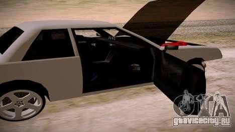 Manana BOOM для GTA San Andreas вид сзади слева