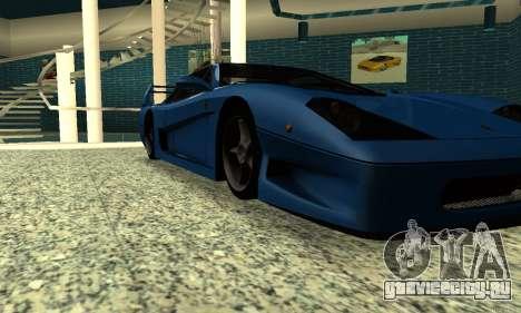 HD Turismo для GTA San Andreas вид справа