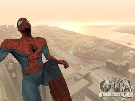 Spiderman 3 Crawling для GTA San Andreas третий скриншот