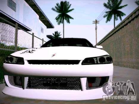 Nissan Silvia S15 Roux для GTA San Andreas вид сзади