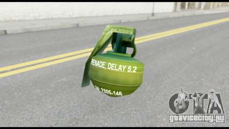 MGS1-2 Grenade from Metal Gear Solid для GTA San Andreas третий скриншот