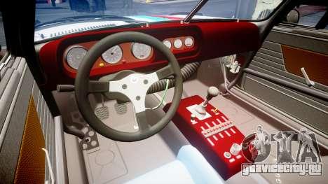 BMW 3.0 CSL Group4 [29] для GTA 4 вид изнутри