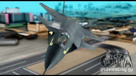 Chenyang J-20 BF4 для GTA San Andreas вид справа