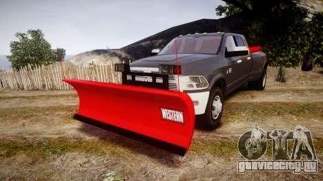 Dodge Ram 3500 Plow Truck [ELS] для GTA 4
