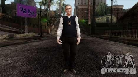 GTA 4 Skin 33 для GTA San Andreas