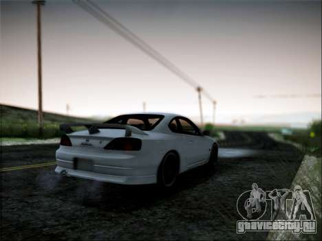 Nissan Silvia S15 Roux для GTA San Andreas вид слева