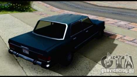 Четырёхдверный Feltzer для GTA San Andreas вид сзади слева