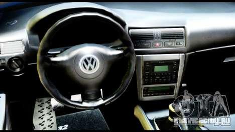 Volkswagen Golf MK4 R32 Stance v1.0 для GTA San Andreas вид справа