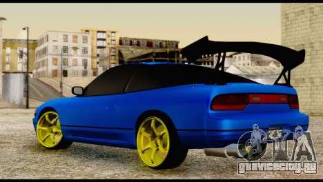Nissan Silvia S13 Sileighty Drift Moster для GTA San Andreas вид слева